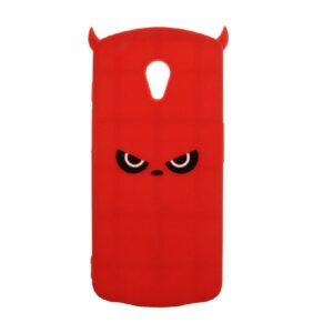 Силиконовый чехол 3D TOTO Silicone Cartoon Network Devil для Meizu M6s – Red