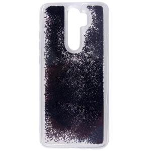 TPU+PC чехол Sparkle glitter для Xiaomi Redmi Note 8 Pro – Черный