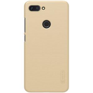 Пластиковый чехол Nillkin Matte для Xiaomi Mi 8 Lite / Mi 8 Youth – Золотой