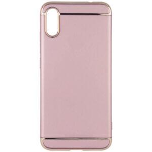 Матовый пластиковый чехол Joint Series для Xiaomi Redmi 7A – Розовый / Rose Gold