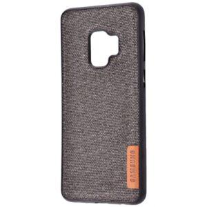 TPU чехол Label Case Textile для Samsung Galaxy S9 (G960) – Black