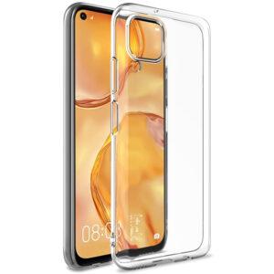 Прозрачный силиконовый TPU чехол для Huawei P40 Lite