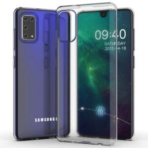 Прозрачный силиконовый TPU чехол для Samsung Galaxy A41