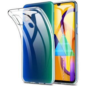 Прозрачный силиконовый TPU чехол для Samsung Galaxy M31