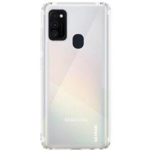 Прозрачный силиконовый TPU чехол GETMAN для Samsung Galaxy M30s / M21