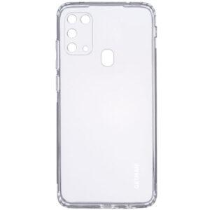Прозрачный силиконовый TPU чехол GETMAN для Samsung Galaxy M31