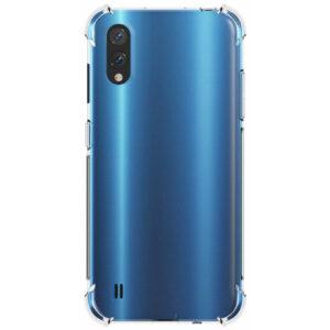 Чехол TPU GETMAN Ease с усиленными углами для Samsung Galaxy A01 – Clear