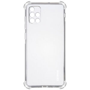 Чехол TPU GETMAN Ease с усиленными углами для Samsung Galaxy A51 – Clear