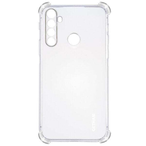 Чехол TPU GETMAN Ease с усиленными углами для Xiaomi Redmi Note 8 – Clear
