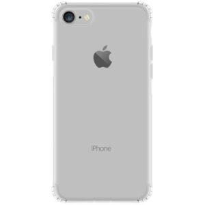 Прозрачный силиконовый TPU чехол GETMAN для Iphone 7 / 8 / SE (2020)