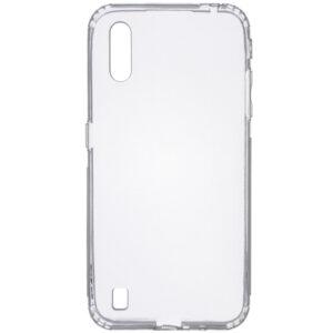 Прозрачный силиконовый TPU чехол GETMAN для Samsung Galaxy A01