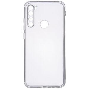 Прозрачный силиконовый TPU чехол GETMAN для Samsung Galaxy A21