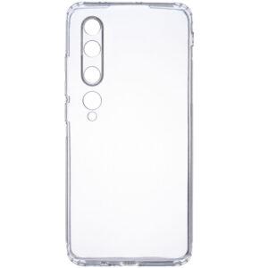 Прозрачный силиконовый TPU чехол GETMAN для Xiaomi Mi 10 / Mi 10 Pro