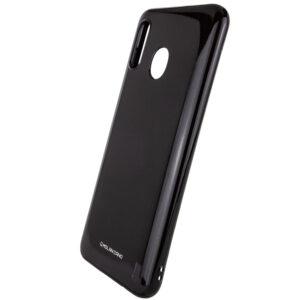 TPU чехол Molan Cano Glossy для Samsung Galaxy A40 2019 (A405) – Черный