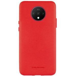 Силиконовый чехол TPU Molan Cano Smooth для OnePlus 7T — Красный