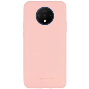 Силиконовый чехол TPU Molan Cano Smooth для OnePlus 7T — Розовый