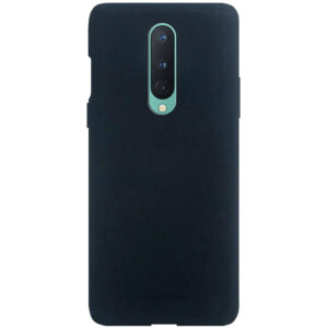 Силиконовый чехол TPU Molan Cano Smooth для OnePlus 8 — Черный