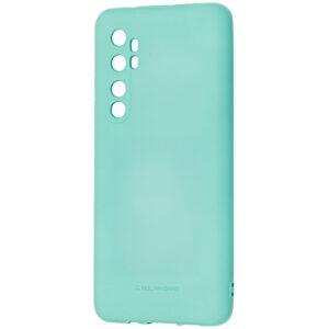 Силиконовый чехол TPU Molan Cano Smooth для Xiaomi Mi Note 10 Lite — Бирюзовый