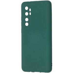 Силиконовый чехол TPU Molan Cano Smooth для Xiaomi Mi Note 10 Lite — Зеленый