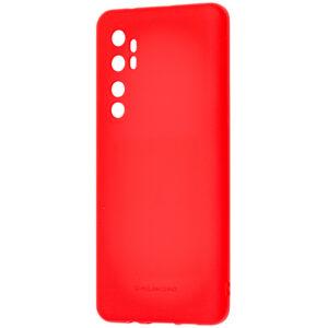 Силиконовый чехол TPU Molan Cano Smooth для Xiaomi Mi Note 10 Lite — Красный