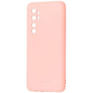 Силиконовый чехол TPU Molan Cano Smooth для Xiaomi Mi Note 10 Lite — Розовый