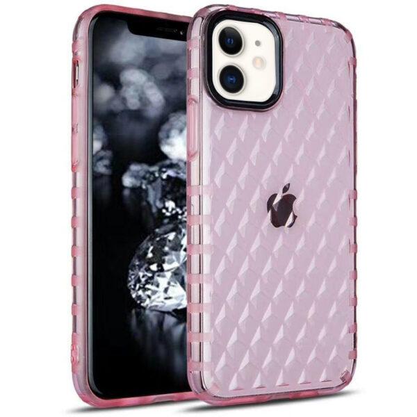 TPU чехол Protect Prism для Iphone 11 – Розовый