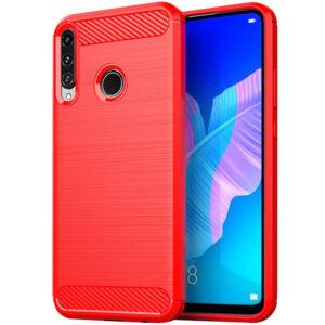 Cиликоновый TPU чехол Slim Series для Huawei P40 Lite E / Y7P (2020) – Красный