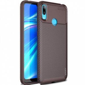 Силиконовый чехол Ipaky Kaisy Series для Samsung Galaxy A40 2019 (A405) – Коричневый