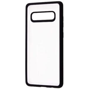 Чехол TPU+PC Totu Crystal Color Series для Samsung Galaxy S10 Plus (G975) – Black