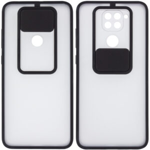 Чехол Camshield mate TPU со шторкой для камеры для Xiaomi Redmi Note 9 / Redmi 10X – Черный