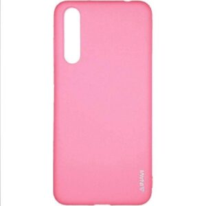 Матовый силиконовый TPU чехол на Huawei P20 Pro – Розовый