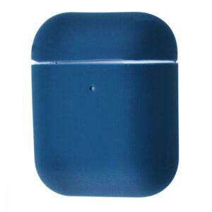 Чехол для наушников Silicone Case Ultra Slim для Apple Airpods 2 – Blue cobalt