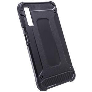 Противоударный бронированный чехол Spigen для Samsung Galaxy A7 2018 A750 – Черный