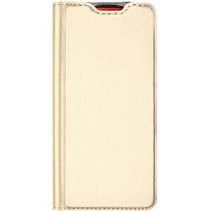 Чехол-книжка Dux Ducis с карманом для Xiaomi Redmi K20 / K20 Pro / Mi 9T / Mi 9T Pro – Золотой