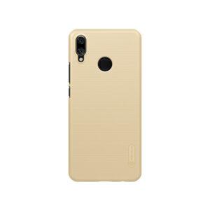 Пластиковый чехол Nillkin Matte для Huawei P Smart Plus / Nova 3i – Золотой