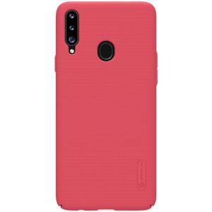 Пластиковый чехол Nillkin Matte для Samsung Galaxy A20s 2019 (A207) – Красный