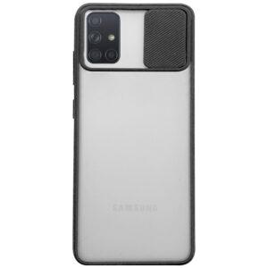 Чехол Camshield mate TPU со шторкой для камеры для Samsung Galaxy A71 – Черный
