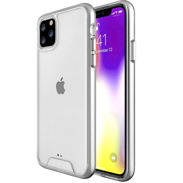 Прозрачный силиконовый TPU чехол Space Case для Iphone 11 Pro – Clear