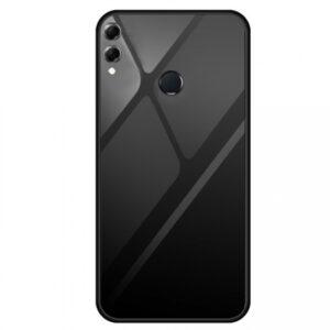 TPU+Glass чехол Gradient Series с градиентом для Huawei Honor 8X Max – Черный