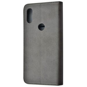 Чехол-книжка Black TPU Magnet для Xiaomi Mi Play – Gray