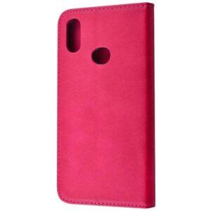 Чехол-книжка Black TPU Magnet для Huawei Y6 / Honor 8A / Y6s 2019 – Pink