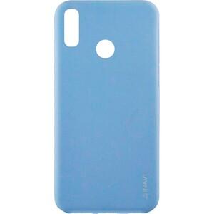 Матовый силиконовый TPU чехол для Huawei P20 Lite – Голубой