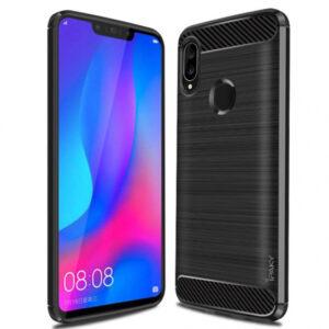 Силиконовый чехол Ipaky Slim Series для Huawei P Smart 2019 – Черный