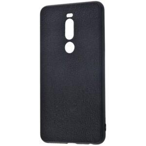 Чехол Holographic Leather Case для Meizu M8 Note / Note 8 – Black