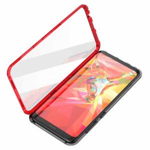 Магнитный противоударный чехол (бампер) для Samsung Galaxy S9 Plus (G965) – Красный