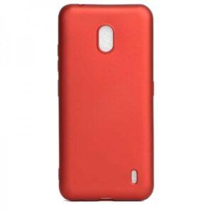 Матовый силиконовый TPU чехол для Nokia 2.2 – Red