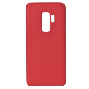Чехол Silicone Case without Logo (A) с микрофиброй для Samsung Galaxy S9 Plus (G965) – Красный / Red