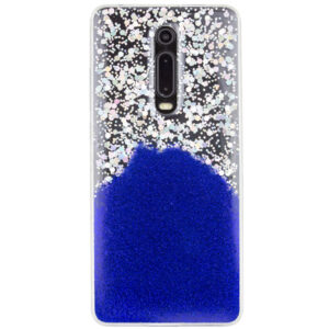 Cиликоновый чехол Galaxy Glitter для Xiaomi Redmi K20 / K20 Pro / Mi 9T / Mi 9T Pro – Фиолетовый