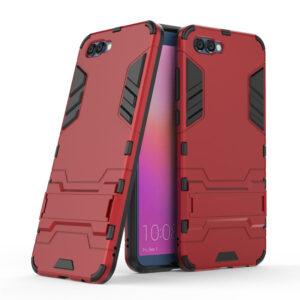 Ударопрочный чехол Transformer с подставкой для Huawei Honor 10 – Красный / Dante Red
