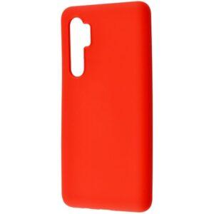 Чехол WAVE Colorful Case с микрофиброй для Xiaomi Mi Note 10 Lite – Red
